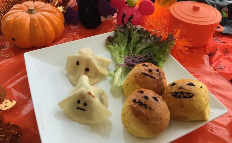和菓子となんちゃってパンでハロウィンパーティー!軽いランチ付き