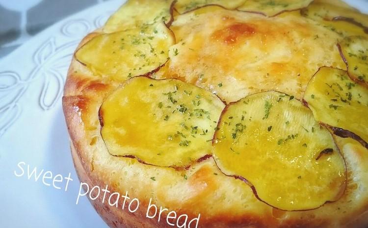 短時間パン!サツマイモのふわふわパンとキノコのスープ