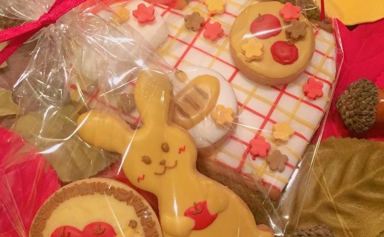 アイシングクッキー3枚