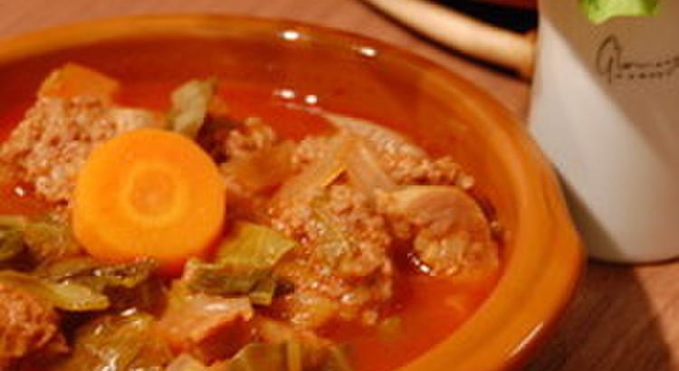 赤のスープ