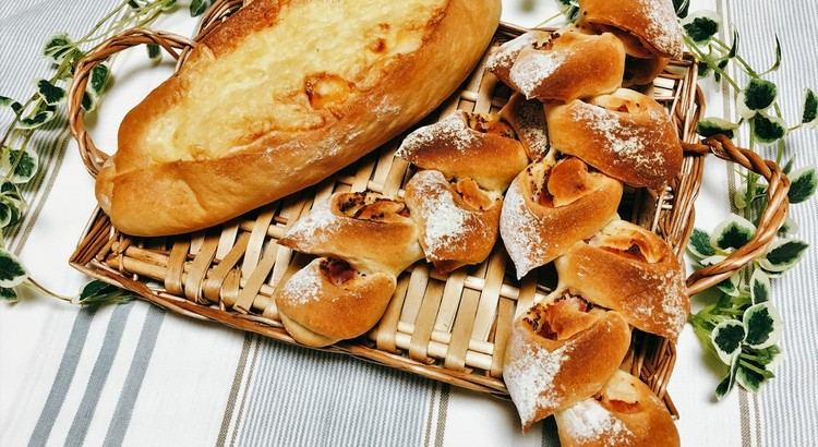 ベーコンエピ&チーズフランス 同じ生地で2種類のパンを作ろう!!