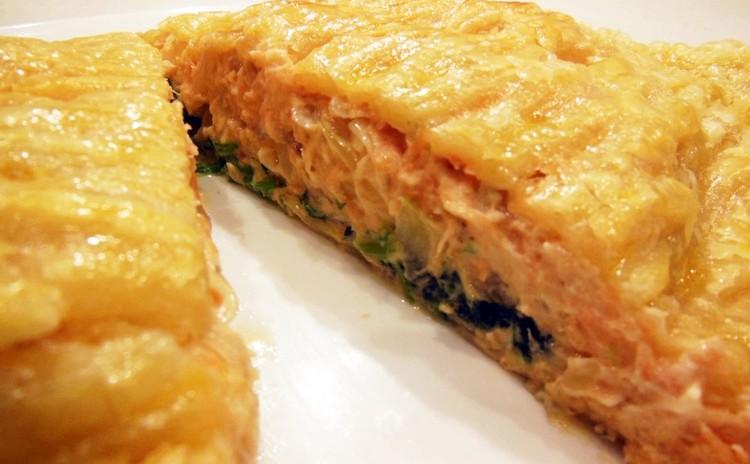 Xmasその⑥/スタッフドハーブローストチキン(国産鶏)・サーモンクリームチーズパイ、チェリータルト他✿お土産付