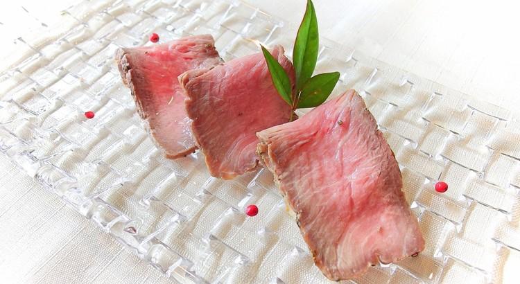 桜色の焼き豚