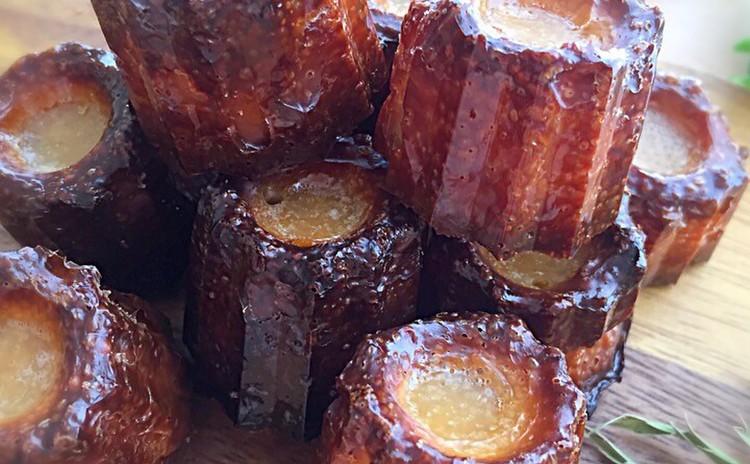 フランスのお菓子!ミニカヌレ&キウイのコンポート