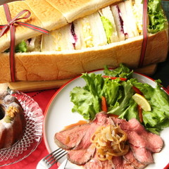 クリスマスやパーティーにパン・シュープリーズと失敗無しのローストビーフ