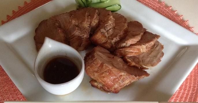 300人超☆旨味ギュッ焼き豚一本♪中華おこわ&オリゴ糖でフルーツポンチ
