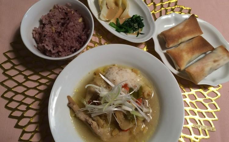 秋の味覚「秋刀魚」ヘルシー春巻き、薬膳スープなどお肌の潤いメニュー
