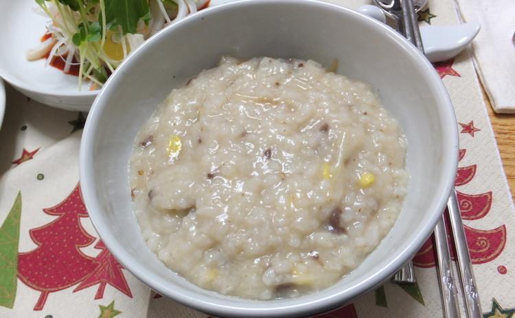 콩나물죽コンナムルチュク(大豆もやしのお粥)