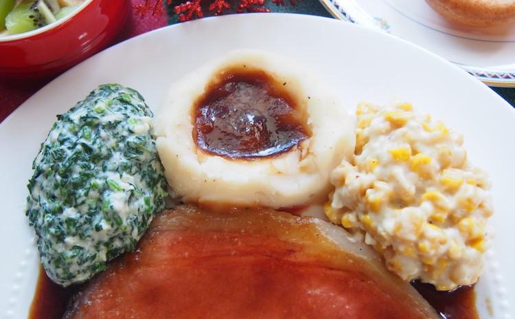 クリーミーマッシュポテト&グレービーソース