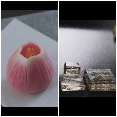12月の和菓子レッスン♪本格練り切りの「寒椿」と貴腐ワインの艶干し錦玉