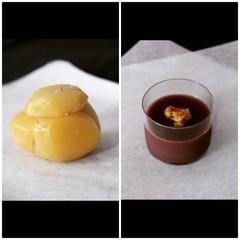 10月の和菓子レッスン♪「栗かのこ」と「ラム酒とくるみの大人な羊羹」