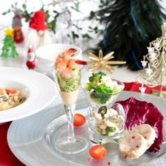 簡単だから何度でも クリスマス!海老のクリーム煮、白のポタージュ等