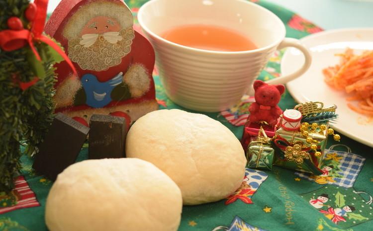 【お土産&ランチ付き】ホワイトクリスマス♪ハイジの白パン&メロンパン♡