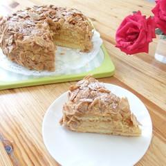 アーモンドケーキをお一人ずつ作ります。