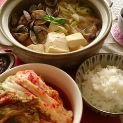 手作り白菜キムチ【お持ち帰り】&二度楽しめるテンジャンチゲ
