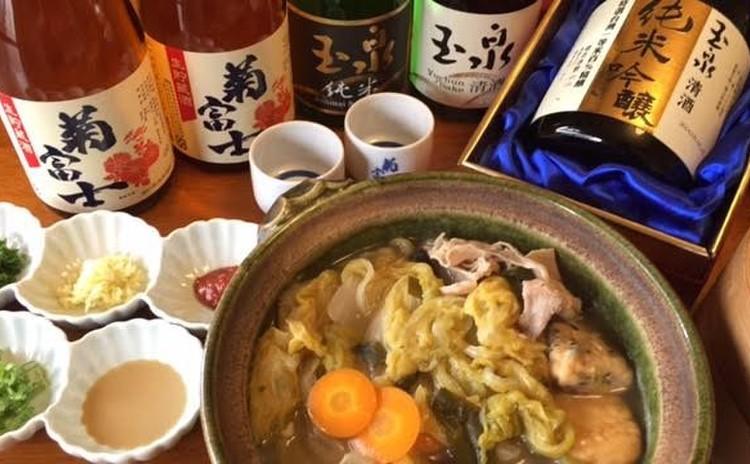 台湾の日本酒を味わおう!台湾を知りながらお酒と料理を楽しみます!