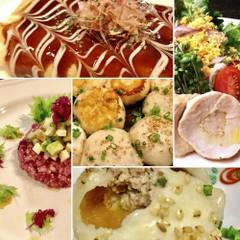 焼小籠包おみやげ付き 鶏ハム・キヌアともち麦の栄養サラダ他