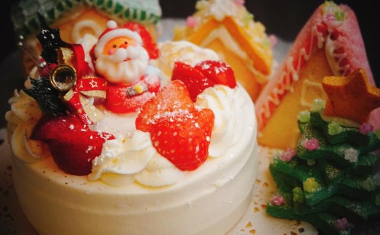 くちどけに感動☆日本ルナ㈱協賛『クレンマ』クリスマスショートケーキ