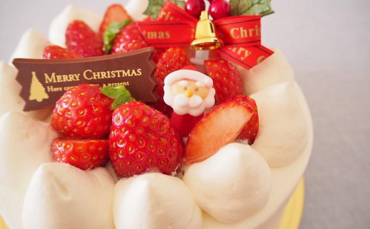 【パティシエ-ルが教える】クリスマスケーキ