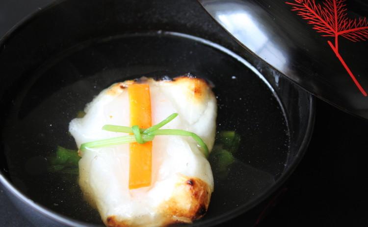 東京風♪寿ぎ(ことほぎ)のお雑煮