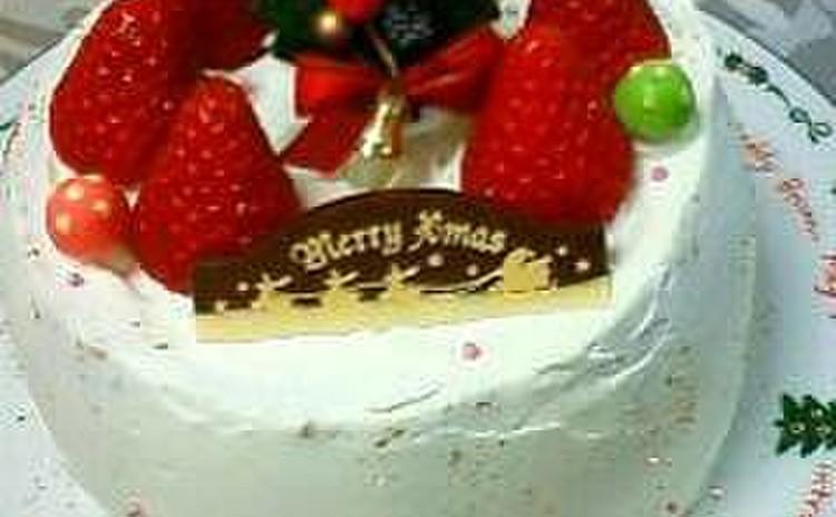 クリスマスパーティーに、そのままお持ち帰りできるデコレーションケーキ