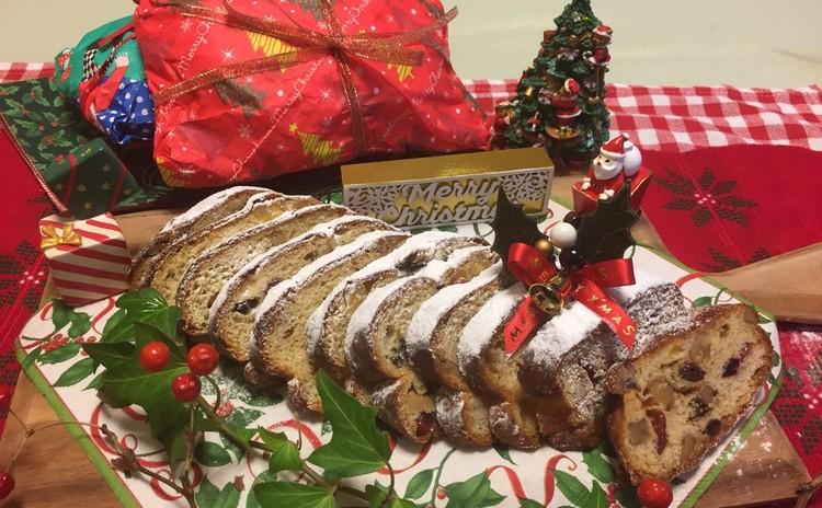 [クリスマス企画]シュートーレン3個、ラッピング付きでお持ち帰り。