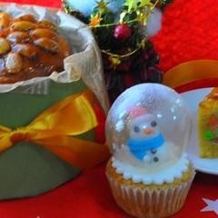 焼き菓子専科Xmas~スコットランドのシュトーレンとスノードームケーキ