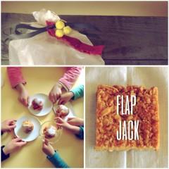 卵乳製品不使用のおやつ ::: Flap jack フラップジャック