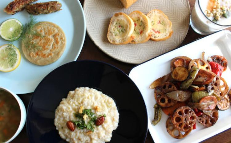 「玄米野菜バル☆」そば米とあわ♪お家でお洒落にベジ、ノンシュガー♪