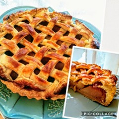 1度は作りたいサクサク生地のアップルパイと、ほっこりアジアンティー♪