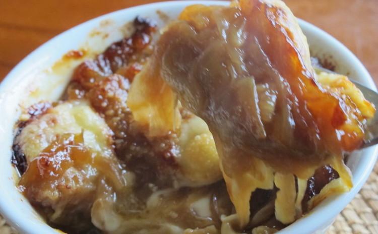 ナポリ風カネローニとオニオングラタンスープ
