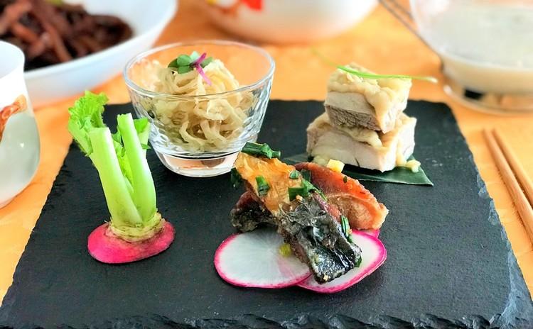 上海定番料理★いろんな麹でヘルシー中華☆酔っ払い鶏&上海焼きそばなど