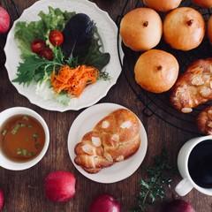 天然酵母で林檎パン&成形が楽しいツオップ(ランチ*お土産付)