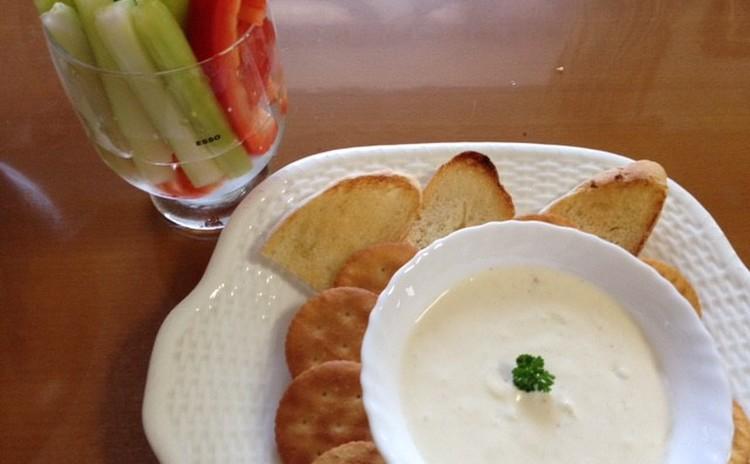 カニとクリームチーズのディップ