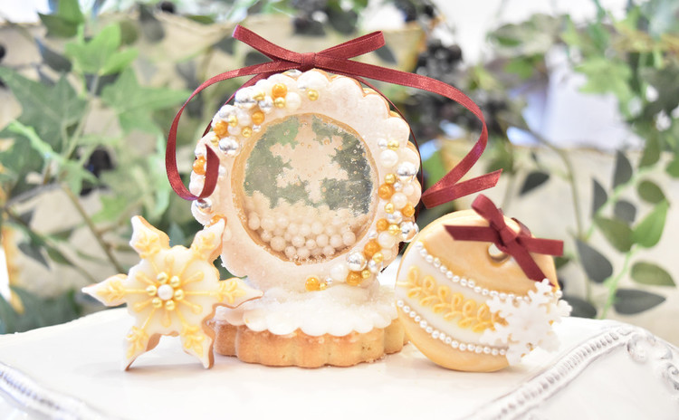 12月の1Dayクラス~大人のホワイトクリスマス~