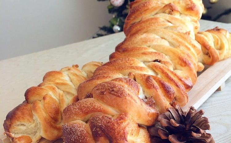 〜クリスマスに〜HBで簡単で可愛くて美味い!ねじりパン
