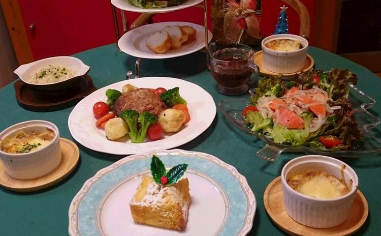 いつもの料理をちょっとお洒落に~クリスマス料理の食卓~