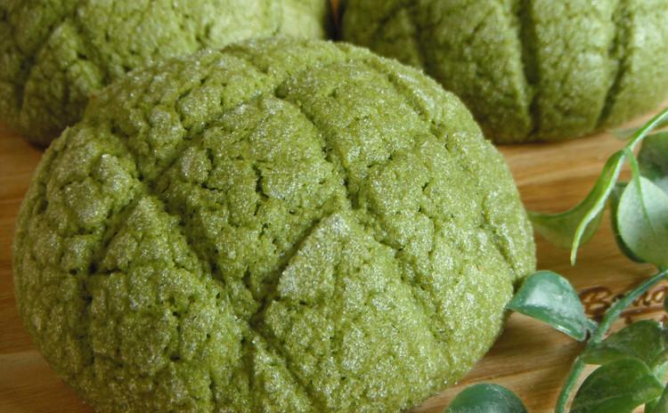 【2種のパン作り】ガーリックバター&抹茶メロンパン♡