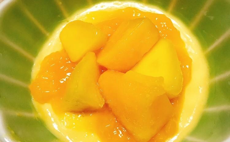 ココナッツミルク入りマンゴープリン(新レシピ)