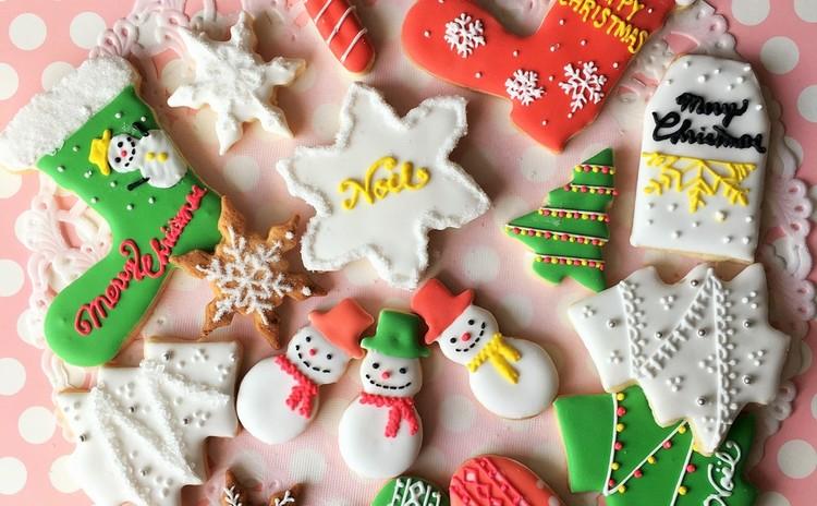 お子様連れOK! クリスマス アイシングクッキーレッスン