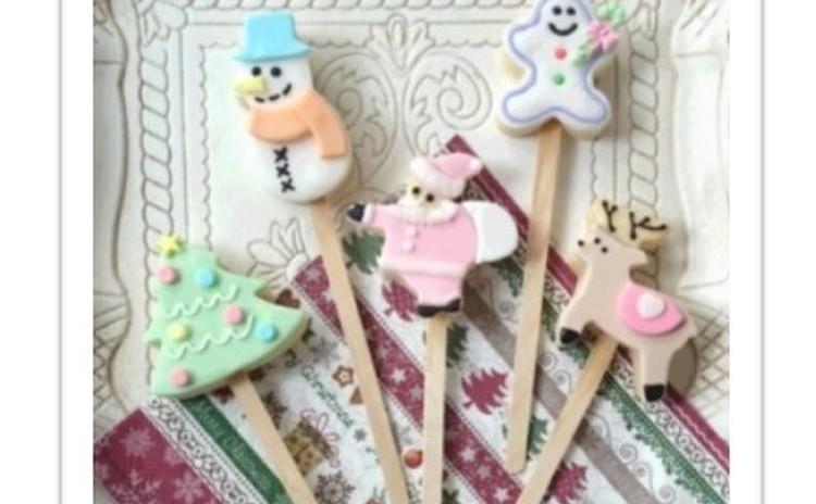 🎄親子でクリスマスクッキーポップスを作りませんか🎄