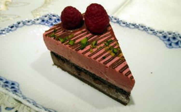 糖質制限でショコラと木苺のアントルメ!X'masケーキにもオススメ☆