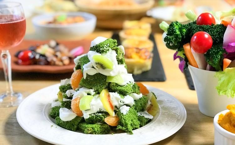 お洒落なクリスマスパーティー料理★きれい、手早く、しかも美味しい♪