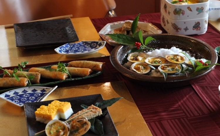日本のハレの日、正月を祝うパーティー現代風 鎌倉スタイル