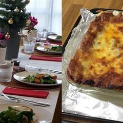 今年のクリスマスは、おいしいラザニアのコースでお祝いしてみませんか☆