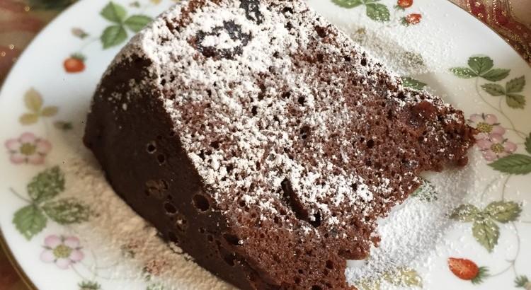 チョコレートとクランベリーのパウンドケーキ