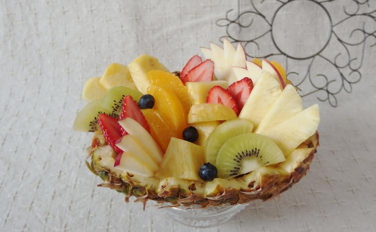暮らしに役立つフルーツの切り方 フルーツ・バスケット