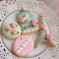 アイシングの基礎〜応用・クッキー生地レッスン