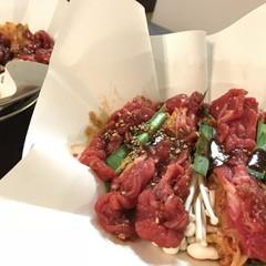 韓国風☆あったかおひとりさまキムチと牛肉の紙鍋