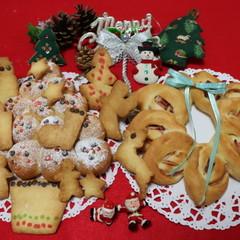 親子で作るクリスマスツリー・リース・クッキー